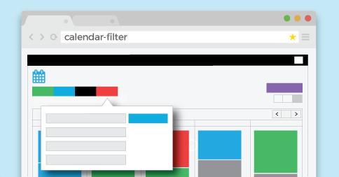 New Calendar Filter