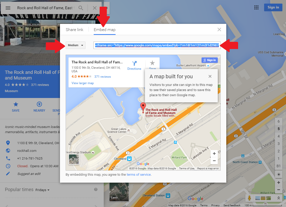 Map On Website Can I place a Google map on my website?   » My Music Staff