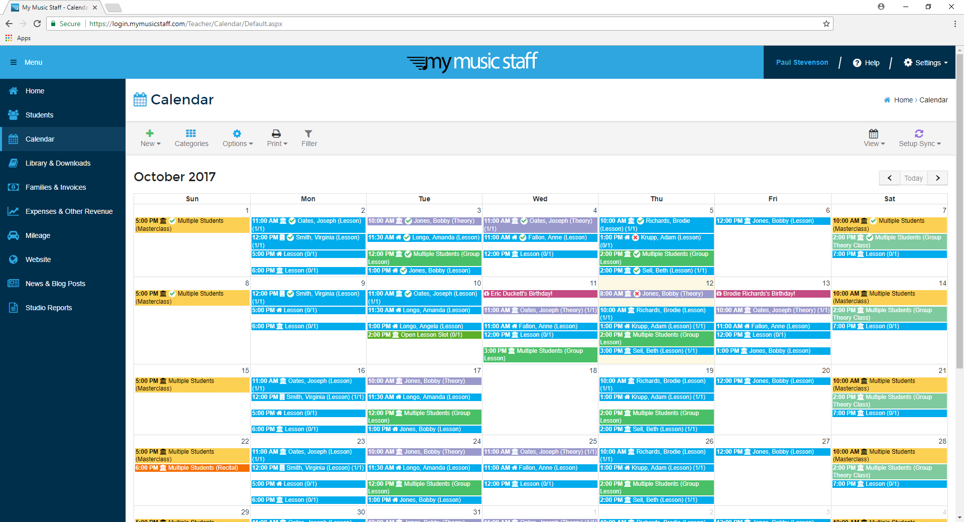 Manage Your Schedule